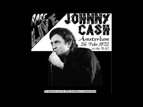 Johnny Cash In Amsterdam Live, (1972/02/26)