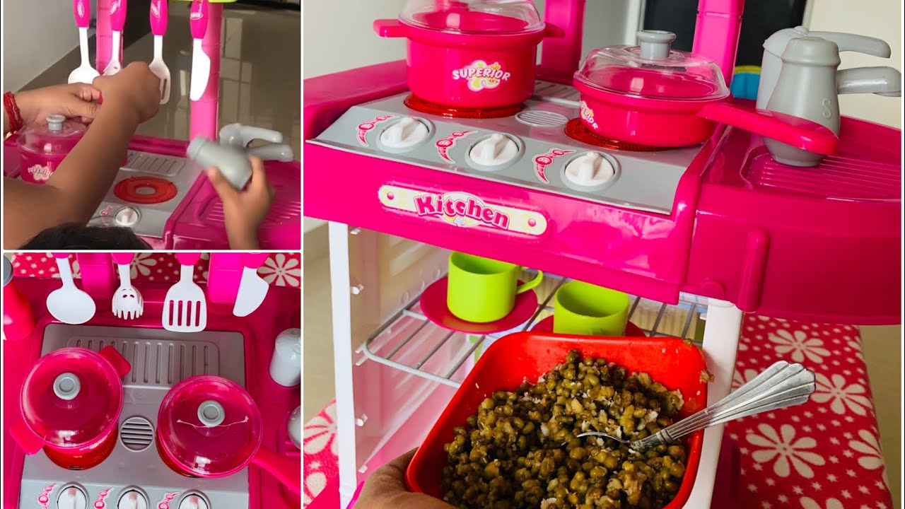 Best Amazon Kids Battery Operated Kitchen Toy Set How To Fix And Play Youtube