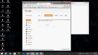 how to add custom navbar or menu bar in blogger