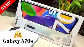 Samsung Galaxy A70s | 64MP Camera | Super Fast Charging ⚡दमदार कैमरा का बाप