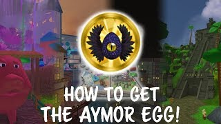 ROBLOX EGG HUNT 2018 - HOW TO GET THE AYMEGG!