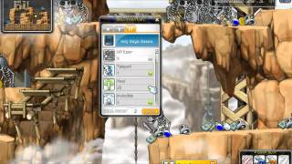 MapleStory Big Bang Cleric Training guide