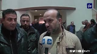 اعتصام لموظفي قصر العدل للمطالبة بحقوق عمالية (6/1/2020)