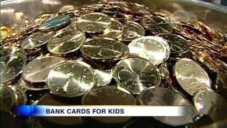 Video: Children as young as 5 getting bank and credit cards