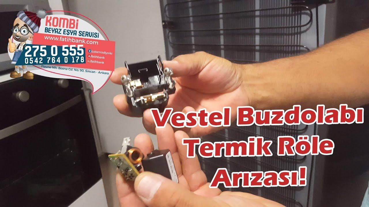 Vestel Buzdolabi Termik Role Ve Kart Arizasi Yenikent Sincan Vestel