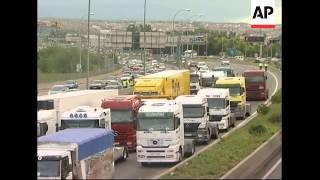 Spanish truckers
