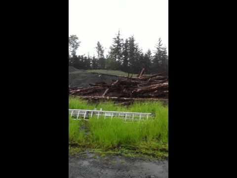 Sitka Landslide - Kramer Avenue