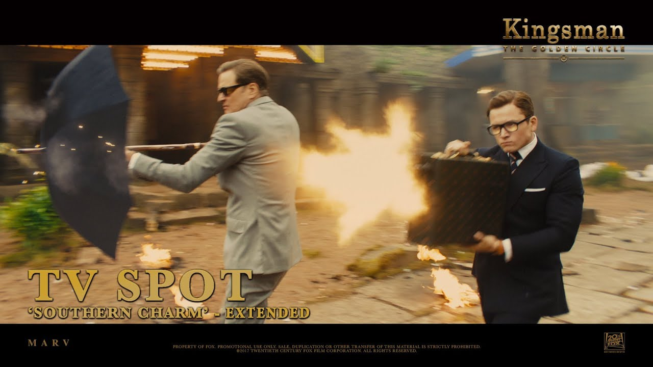 Download Kingsman: The Golden Circle ['Southern Charm' Extended TV Spot in HD (1080p)]