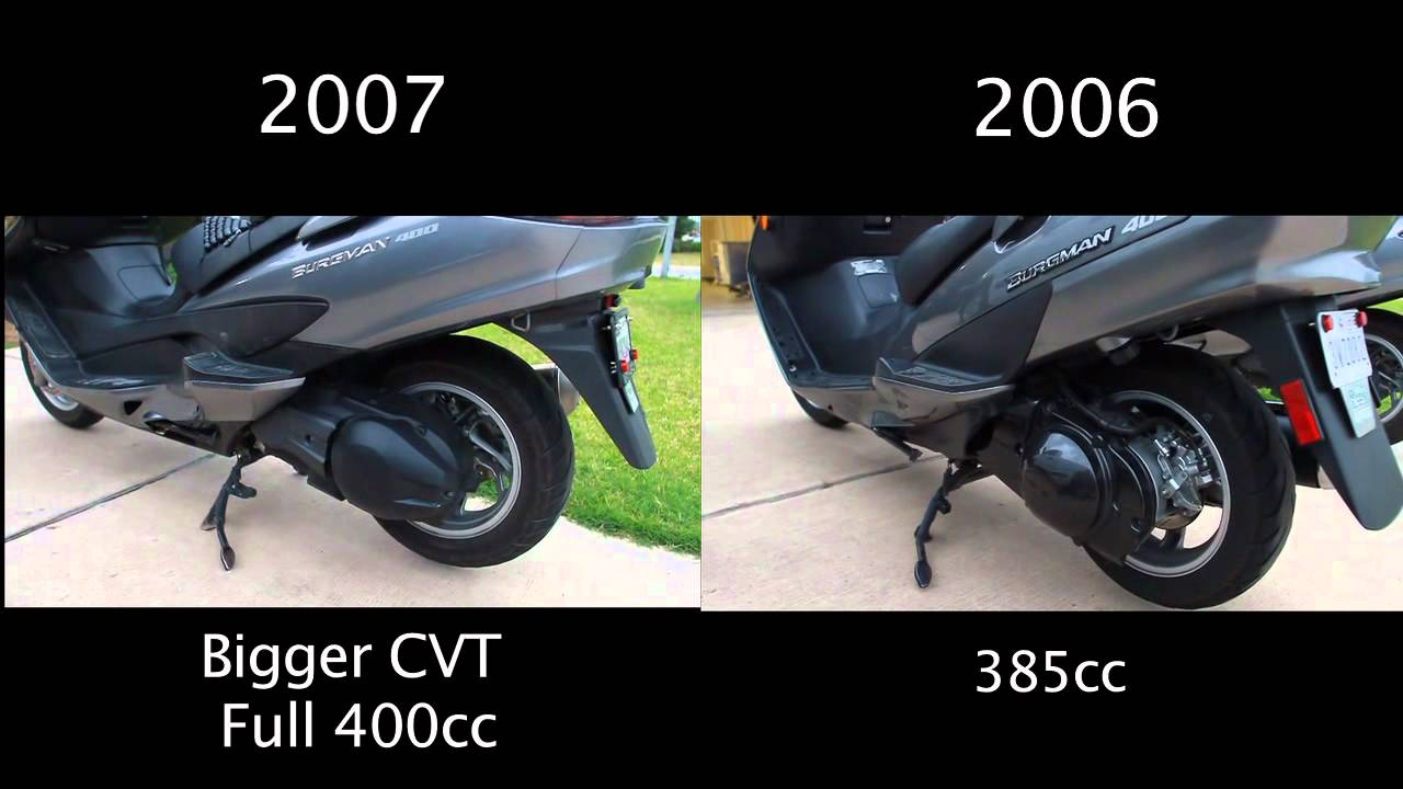 Suzuki Skywave 400: especificacións, comentarios, fotos