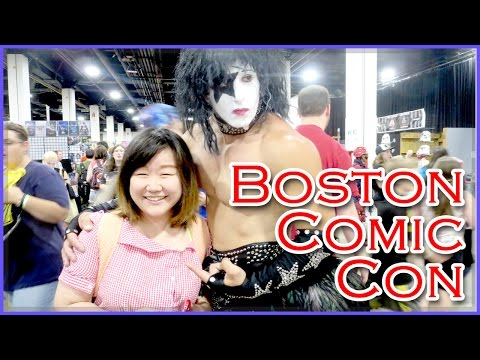Boston Comic Con 2014 - Jenny makes surprise appearances - Meeting TheCrazyPonyLady