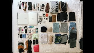 PACKING FOR 16 DAYS IN ONLY A BACKPACK