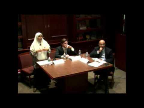 """""""The Role of Islam in the New Egypt"""" with Heba Raouf, Jonathan Brown, and Samer Shehata"""