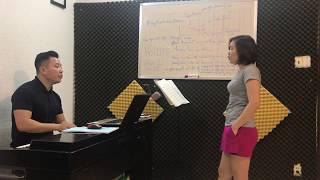 HỌC hát bolero cực hay - HOA TRINH NỮ (dễ thương hát hay giống cs như quỳnh )