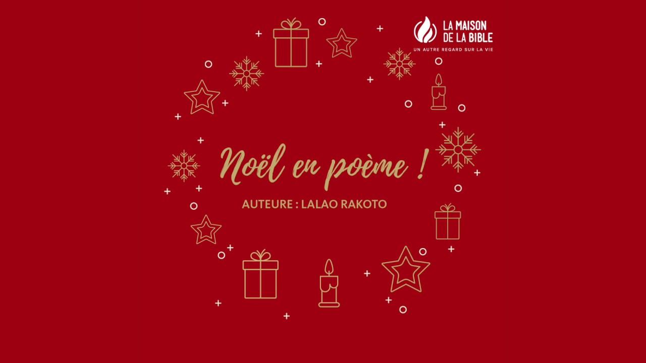 Noël En Poème Joyeux Noël à Tous