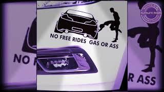 funny car sticker  sexy car stickers