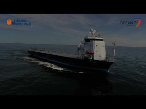 mv BALTIC - newbuilt heavy cargo roro carrier