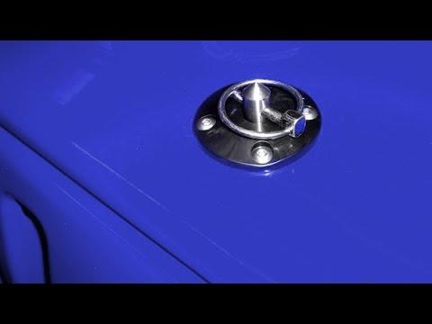 Daystar Hood Pin Installation Youtube