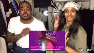 Chris Brown - Wobble Up (Audio) ft. Nicki Minaj, G-Eazy (Reaction)