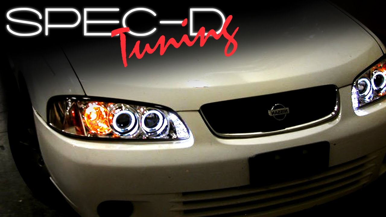 SPECDTUNING Installation Video: 2000-2003 Nissan Sentra ...