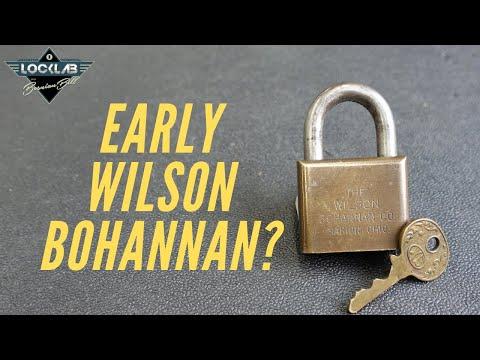 (1620) Early Production Wilson Bohannan?
