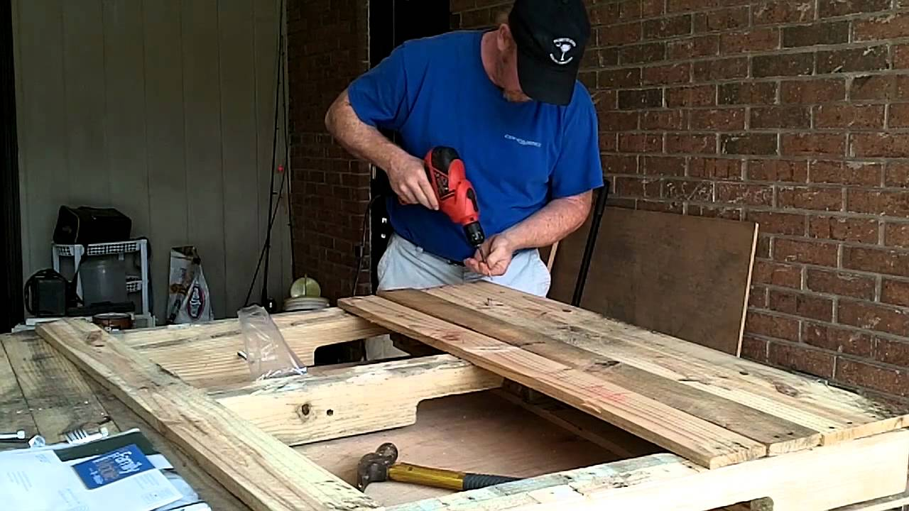 Pallet Topbar Beehive Youtube