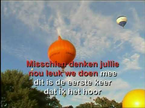 Paul de Leeuw -  Vlieg met me mee ( KARAOKE ) Lyrics