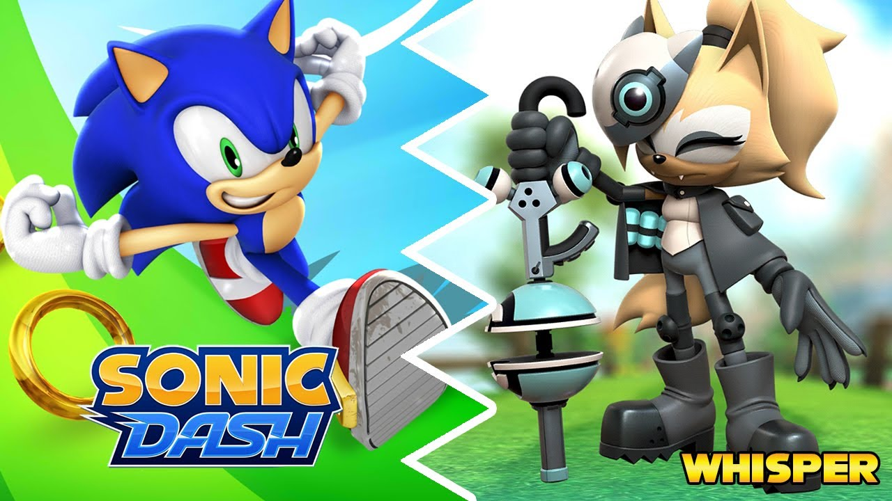 Sonic Dash Whisper The Wolf Max Level Gameplay Youtube