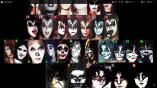 KISS- What is your favorite make up design?