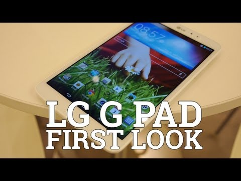 LG G Pad: First Look!
