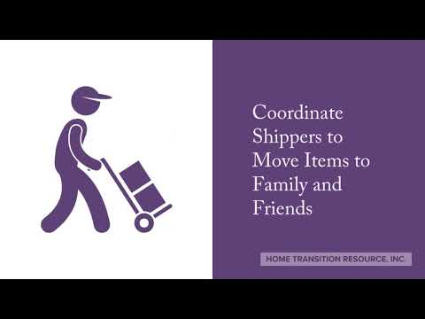 Home Transition Resource, Inc. Move Management Services
