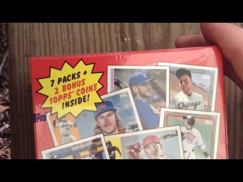 @thirdbasecards Opens Blaster Box of 2017 Topps Archives Baseball Cards