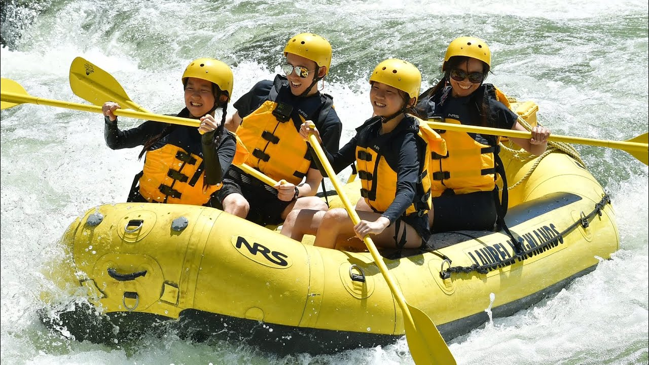 Whitewater Rafting With Janet and Kate!