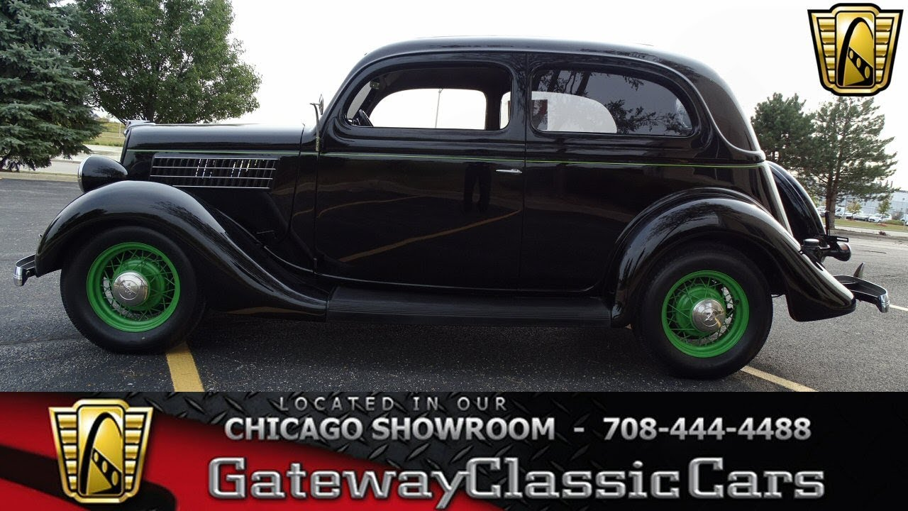 1935 Ford Sedan Gateway Classic Cars Chicago #1279 - YouTube