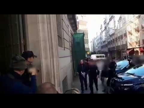 Sito Miñanco entra en la Audiencia de Pontevedra para su juicio por blanqueo