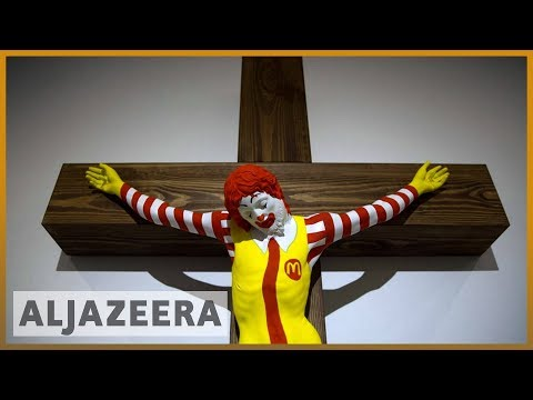 🇮🇱 'McJesus': Artwork In Israel Upsets Arab Christians L Al Jazeera English