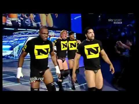 Nexus Attaque Smackdown 1 octobre 2010