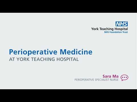Perioperative Medicine Service Animation