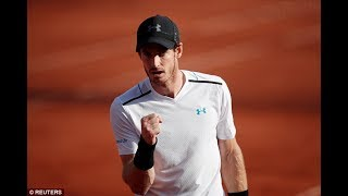 Andy Murray French Open 2017 : Andy Murray makes it through to semi-finals  beating Kei Nishikori