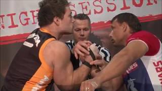 Arm Wars | Armwrestling | Lovei FRA v Haugland NOR | STRAPS WAR! | raw edit |