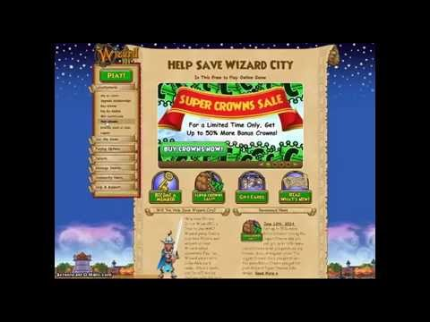 Wizard 101 - Free Crowns (not a cheat) (100% working January 2017)