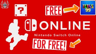 How To Get Nintendo Switch Online For Free! Get Tetris 99 For Free! Switch Online Free Twitch Prime!