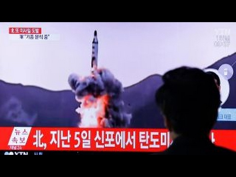 North Korea missile test ends in failure