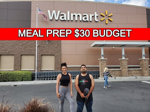 walmart-budget-grocery-haul-|-10-meals-for-under-$30