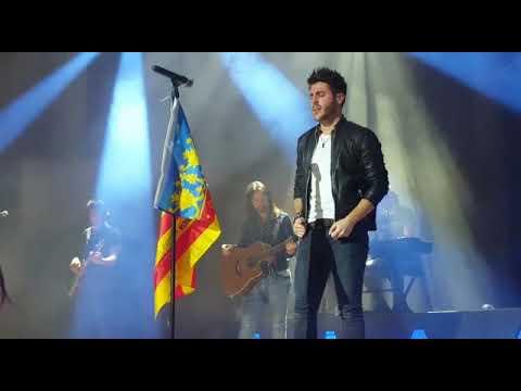 Antonio José - Aquí Estoy Yo - Concierto VALENCIA 2017