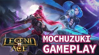 Legend of ACE Mochizuki Gameplay Fast Paced MOBA Game MVP