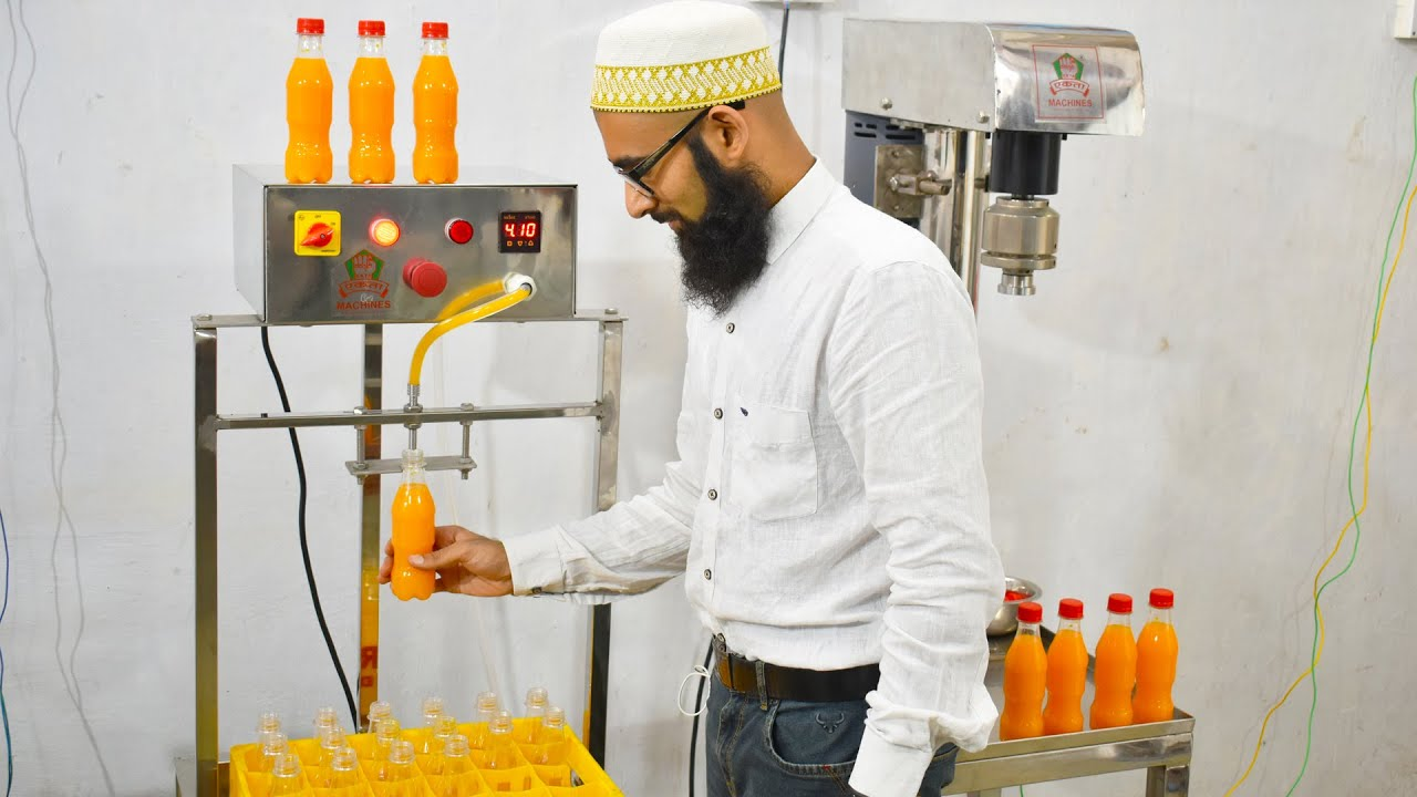 (English) Juice Factory Small Scale and Affordable Machines Call +91 8822686868. जूस का कारखाना