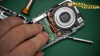 Casio EX-Z800 Obejektiv KAMERA REPARATUR ANLEITUNG /  Kamera Handy Station Repair Guide