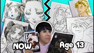 CRINGY ART!! What My Series Looked Like Before It Was Published!!