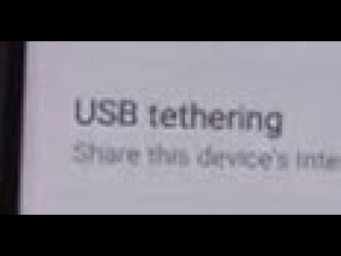 Samsung Galaxy S8: How to Enable USB Tethering to Macbook Pro MAC OS