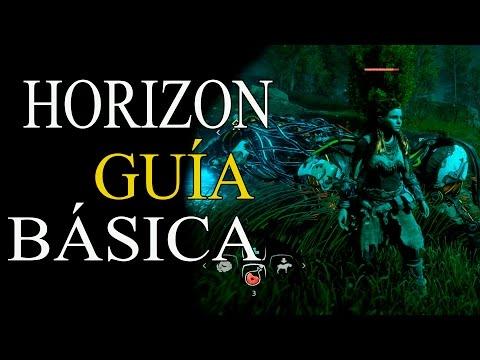 HORIZON ZERO DAWN - GUÍA BÁSICA - INTERFAZ,MENÚS Y CONTROLES